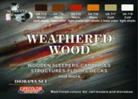 LC Weathered Wood Set
