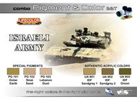 LC Israeli Army Pigment and Color Set