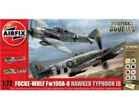 1:72 Focke Wulf Fw190A-8 and Hawker Typhoon Ib Dogfight Doubles Gift Set