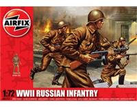 1:72 WWII Russian Infantry