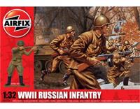 1:32 WWII Russian Infantry