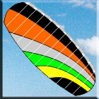 Nitro Powerfoil Kite 1.8m - Dual Control Strings