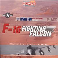 1:72 F-16C Fight Weapons 115th FW Wisconsin ANG 50 years