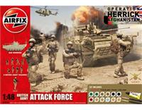 1:48 British Army Attack Force Gift Set