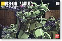 1:144 HGUC Zaku II Mass Production