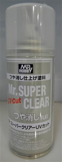 Mr Super Clear UV Cut Flat