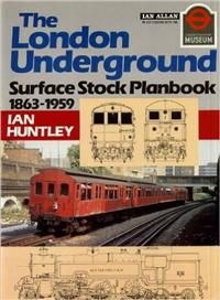 London Transport -Surface Stock Planbook 1863-1959. Huntley. Ian. Ian Allan, 1988.  ISBN: 071101721 2. 64 pages.  Soft cover. Fine condition. Illustrated with colour, black & white photographs and line drawings.