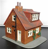 Small two storey house