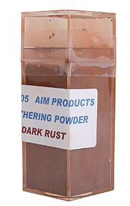 Weathering Powder - Dark Rust