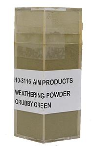 Weathering Powder - Grubby Green