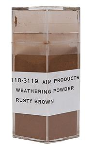 Weathering Powder - Rusty Brown