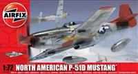 1:72. North American P-51D Mustang. As new. Unused.