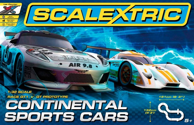 Scalextric Continental Sports Cars